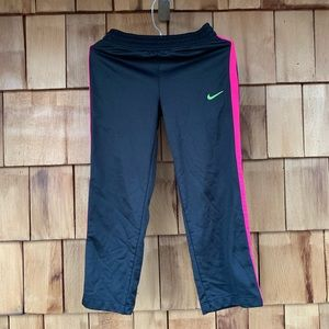 Nike warmup bottoms girls size 5